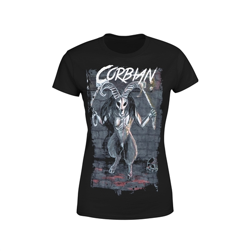 Corbian - Demon In Chains, Girl-Shirt