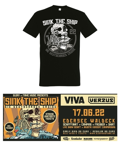 Sink The Ship -  Bundle Shirt + Ticket